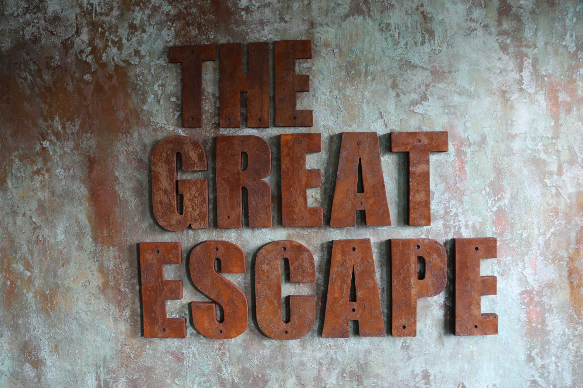 The Great Escape sign