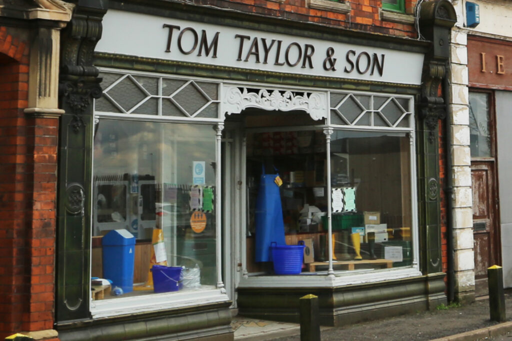 Tom Taylor $ Son exterior