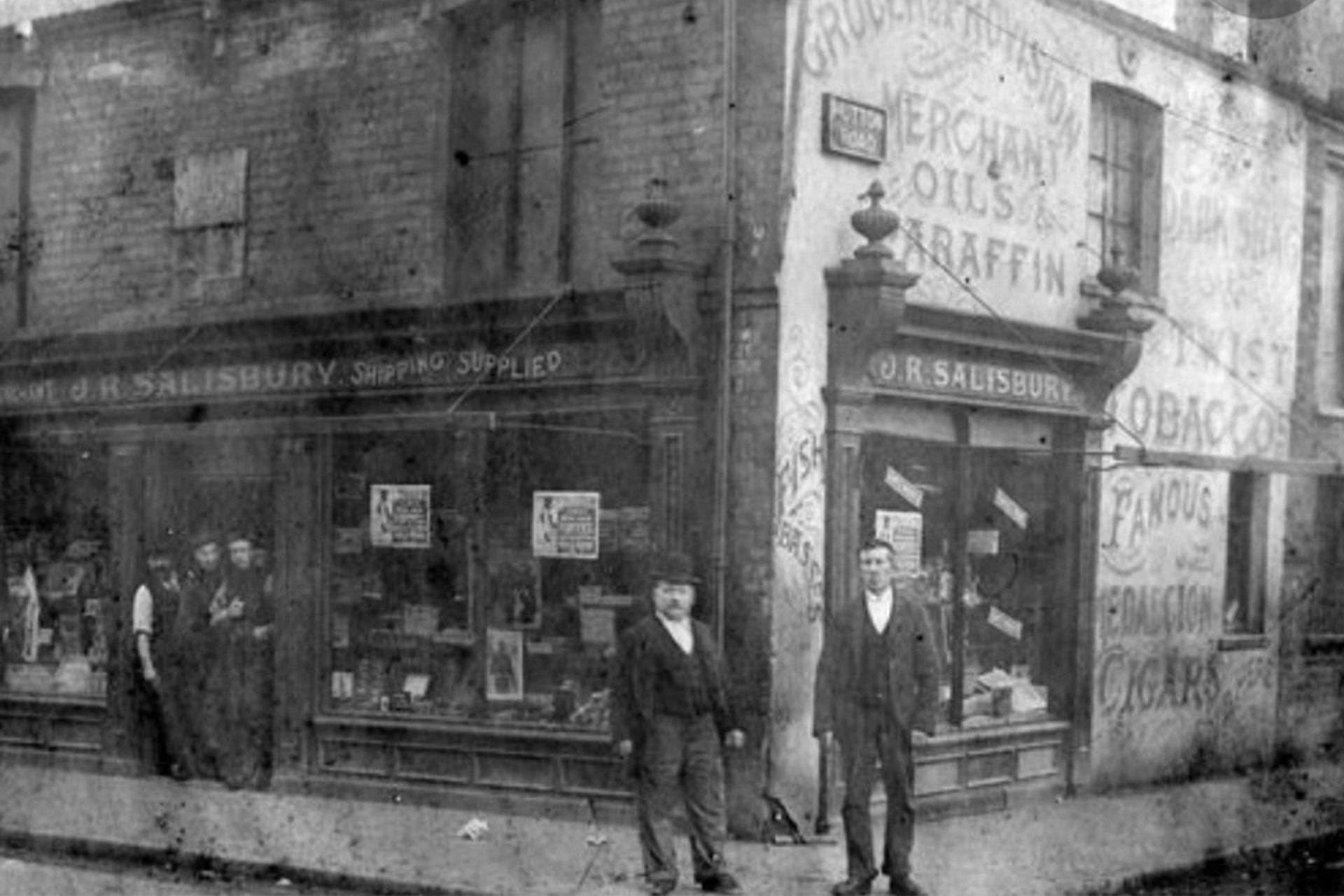 Salsburys Caterers 1910