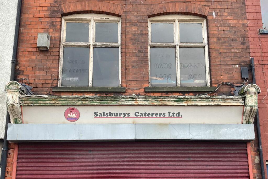 Exterior shot of Salsburys Caterers